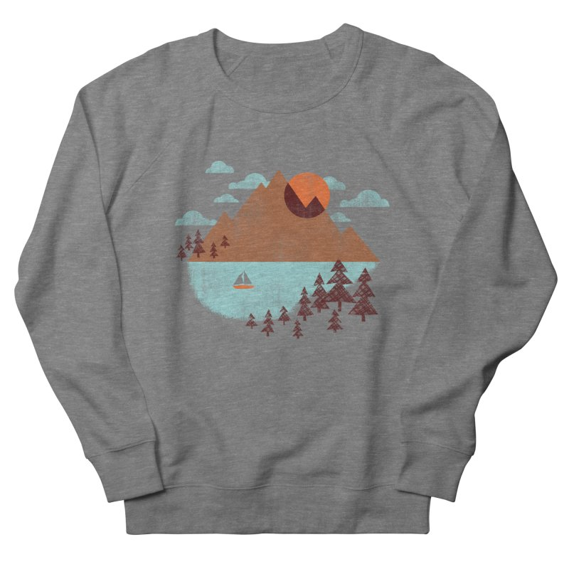 Indian summer Men's French Terry Sweatshirt by Jenny Tiffany's Artist Shop