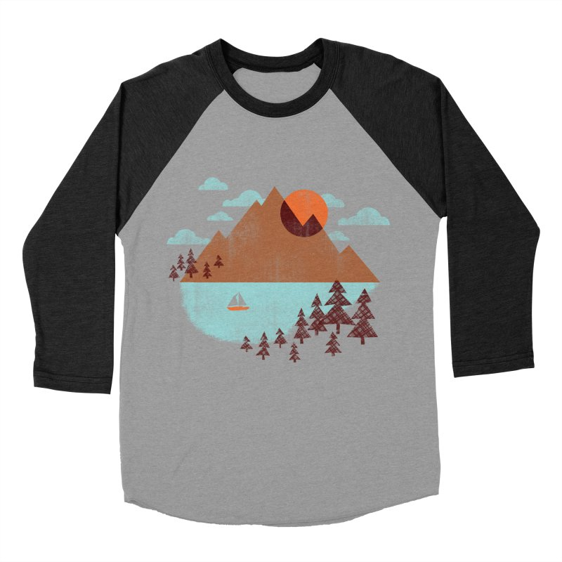 Indian summer Men's Baseball Triblend Longsleeve T-Shirt by Jenny Tiffany's Artist Shop