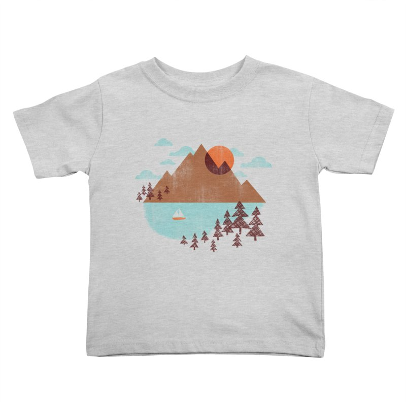 Indian summer Kids Toddler T-Shirt by Jenny Tiffany's Artist Shop