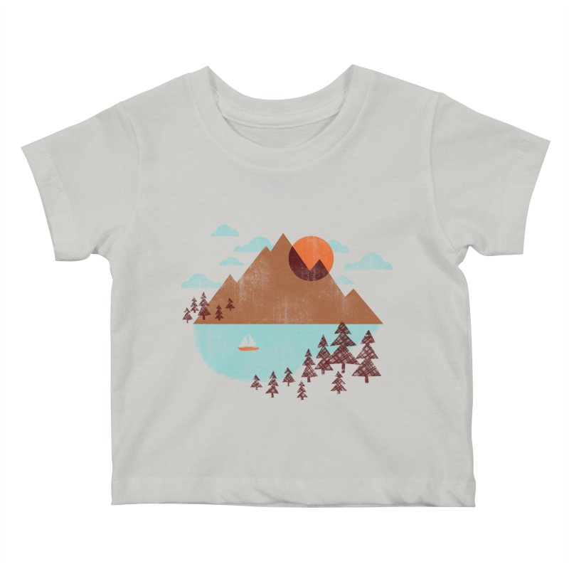 Indian summer Kids Baby T-Shirt by Jenny Tiffany's Artist Shop