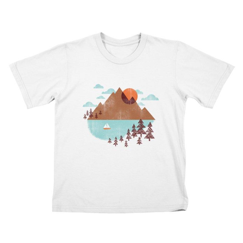 Indian summer Kids T-Shirt by Jenny Tiffany's Artist Shop