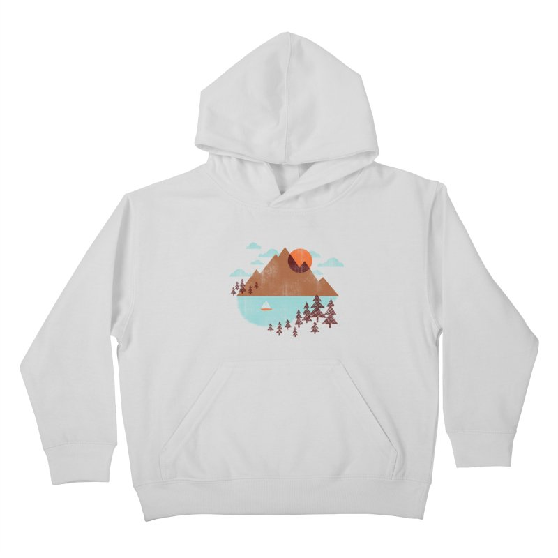 Indian summer Kids Pullover Hoody by Jenny Tiffany's Artist Shop