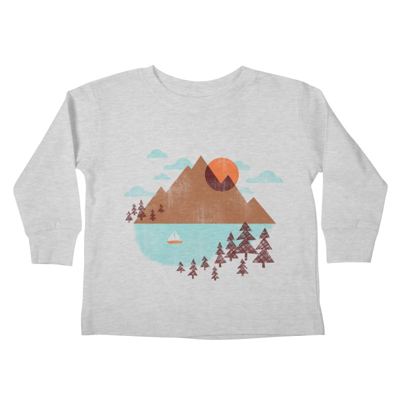 Indian summer Kids Toddler Longsleeve T-Shirt by Jenny Tiffany's Artist Shop