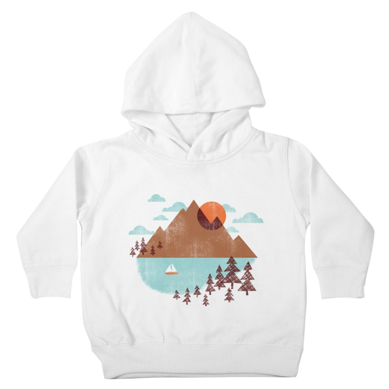 Indian summer Kids Toddler Pullover Hoody by Jenny Tiffany's Artist Shop