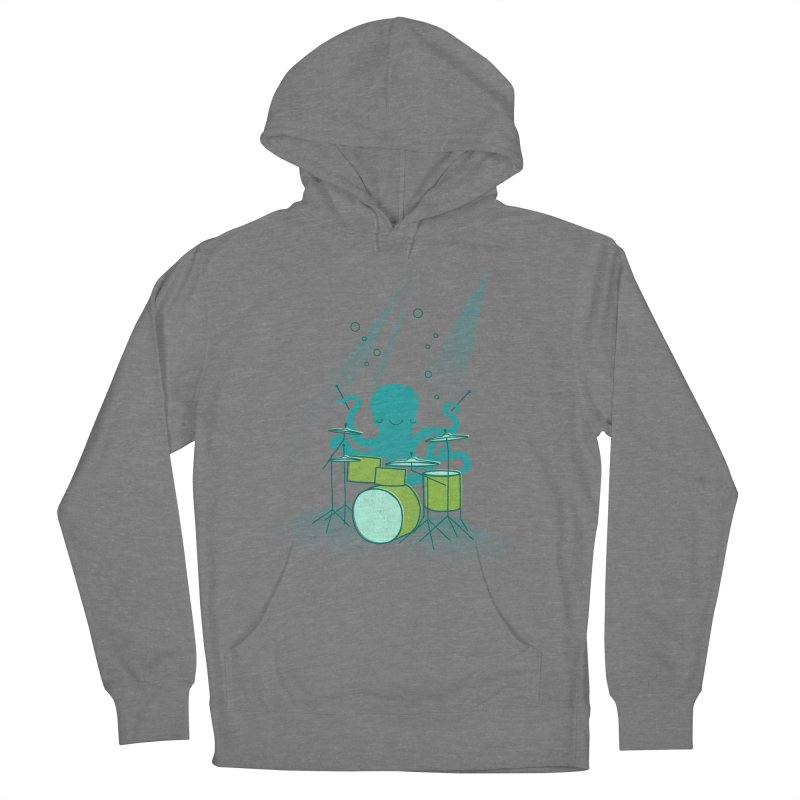Under Sea Beats Women's French Terry Pullover Hoody by Jenny Tiffany's Artist Shop