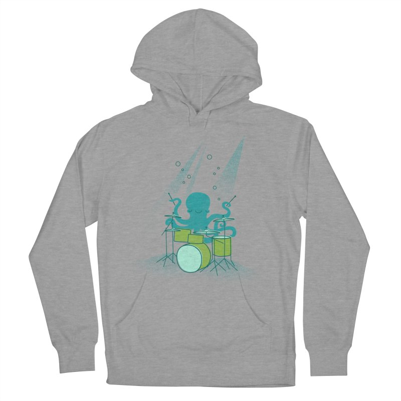 Under Sea Beats Men's French Terry Pullover Hoody by Jenny Tiffany's Artist Shop