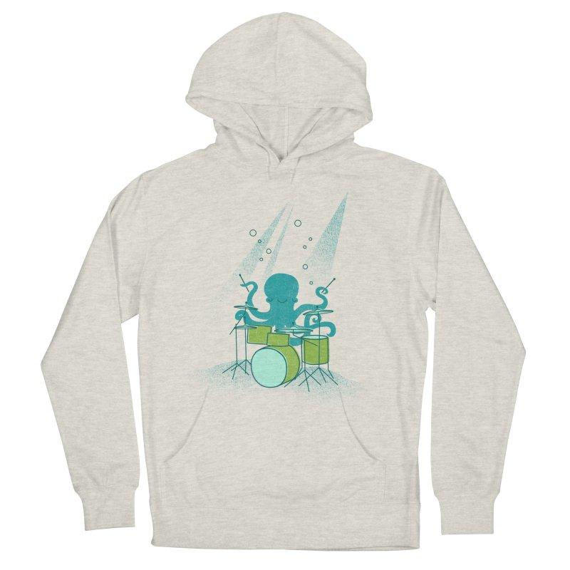 Under Sea Beats Men's Pullover Hoody by Jenny Tiffany's Artist Shop
