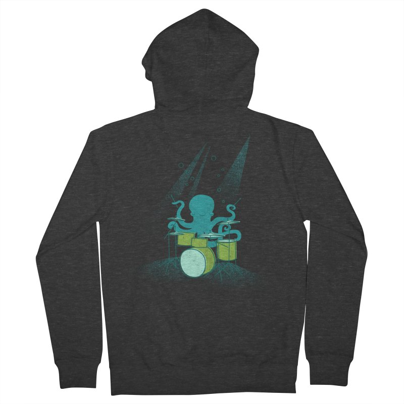 Under Sea Beats Women's Zip-Up Hoody by Jenny Tiffany's Artist Shop