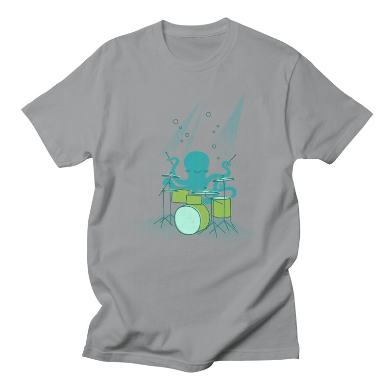 Under Sea Beats Men's Regular T-Shirt by Jenny Tiffany's Artist Shop