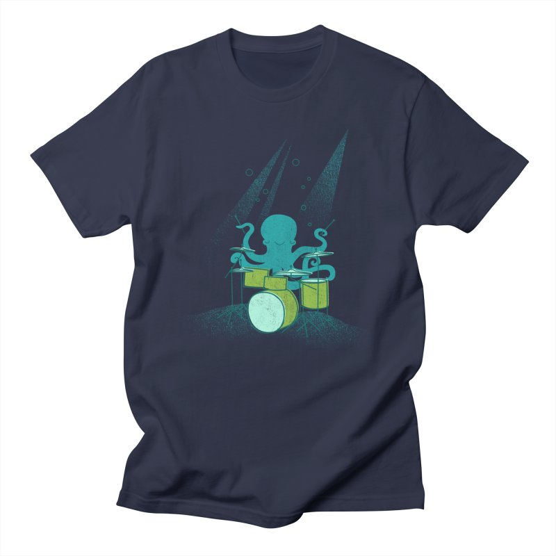 Under Sea Beats Men's T-Shirt by Jenny Tiffany's Artist Shop