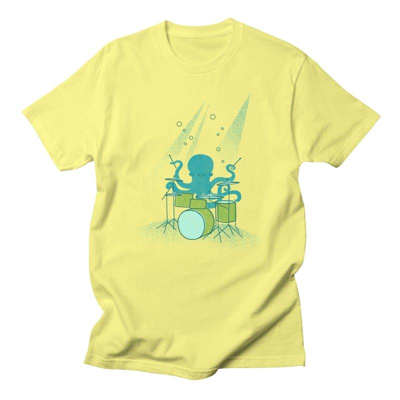 Under Sea Beats Men's T-Shirt by Jenny Tiffany's Artist Shop