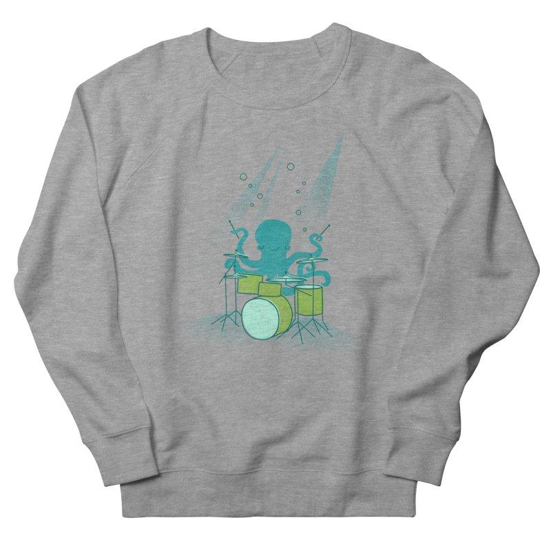 Under Sea Beats Women's French Terry Sweatshirt by Jenny Tiffany's Artist Shop