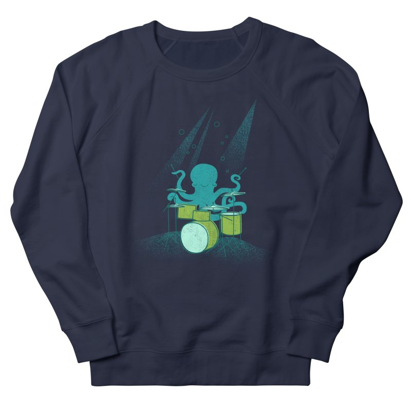 Under Sea Beats Women's French Terry Sweatshirt by Jenny Tiffany's Artist Shop