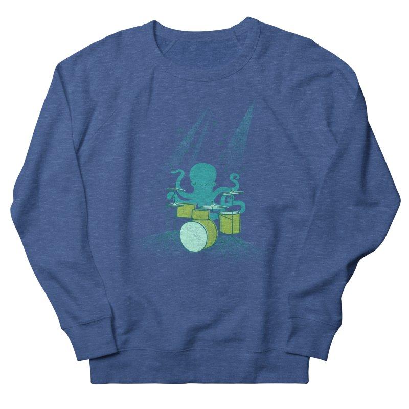 Under Sea Beats Men's Sweatshirt by Jenny Tiffany's Artist Shop