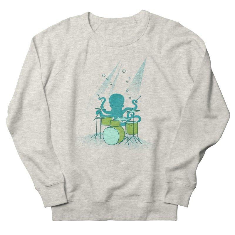 Under Sea Beats Men's French Terry Sweatshirt by Jenny Tiffany's Artist Shop