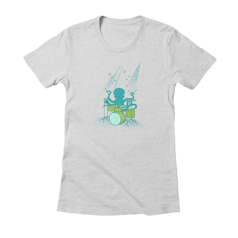 Under Sea Beats Women's T-Shirt by Jenny Tiffany's Artist Shop