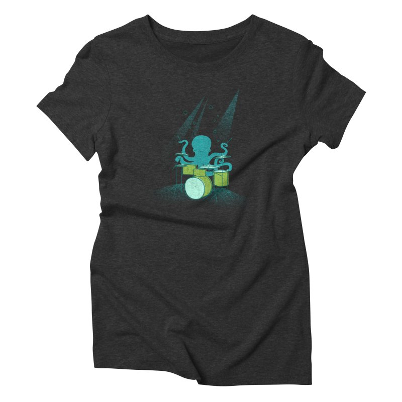 Under Sea Beats Women's Triblend T-Shirt by Jenny Tiffany's Artist Shop
