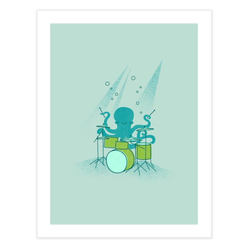 Under Sea Beats Home Fine Art Print by Jenny Tiffany's Artist Shop