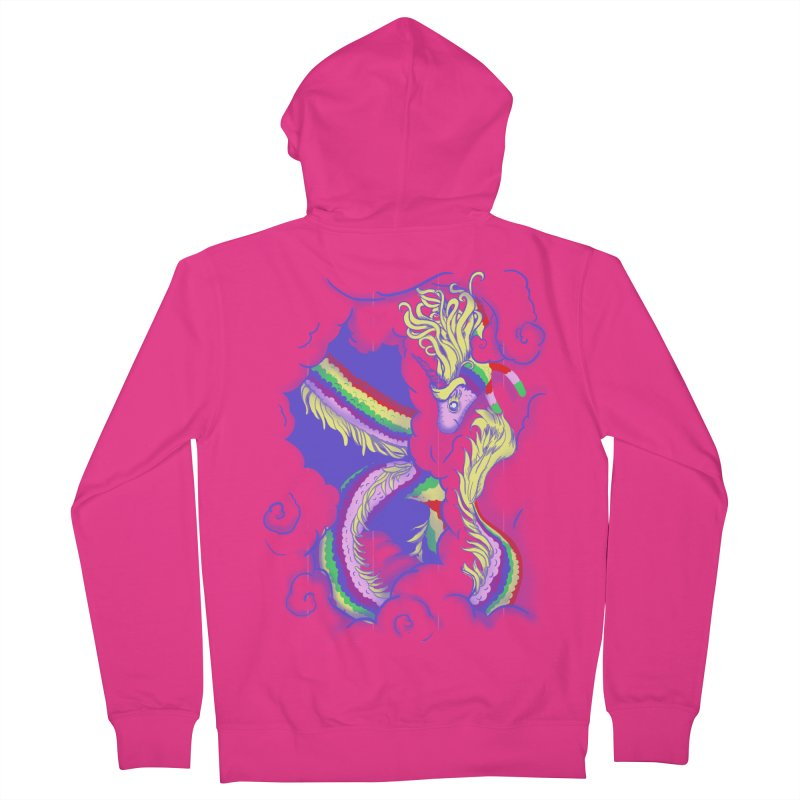 The Lady in the Sky Men's Zip-Up Hoody by jenshirt's Artist Shop