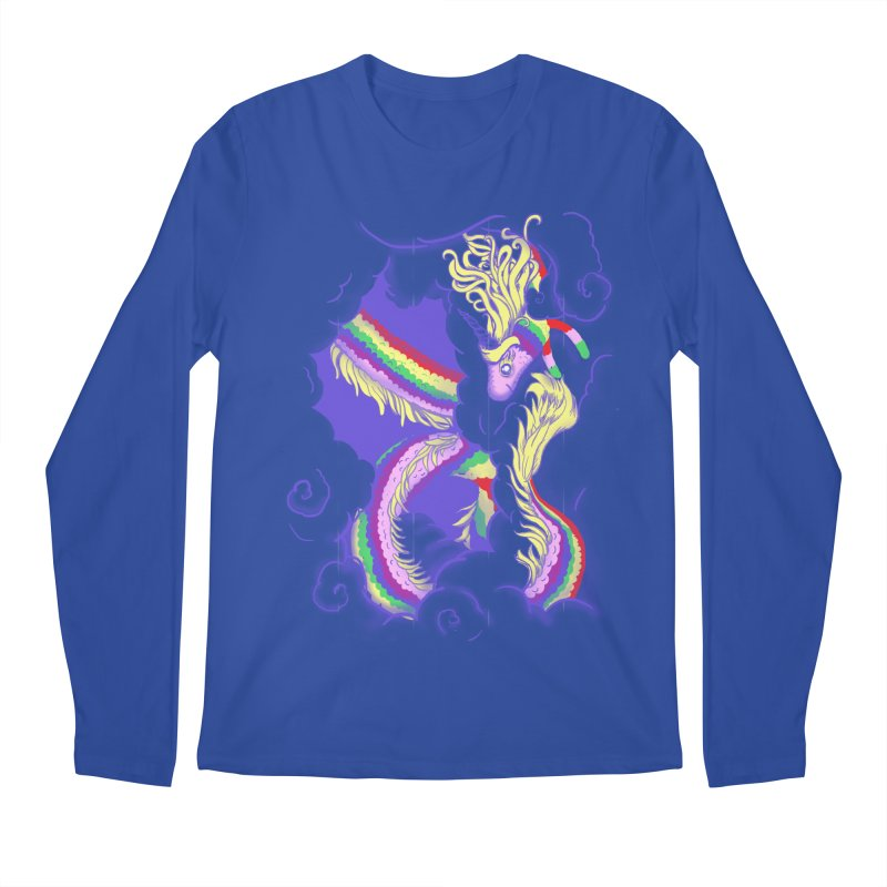 The Lady in the Sky Men's Longsleeve T-Shirt by jenshirt's Artist Shop