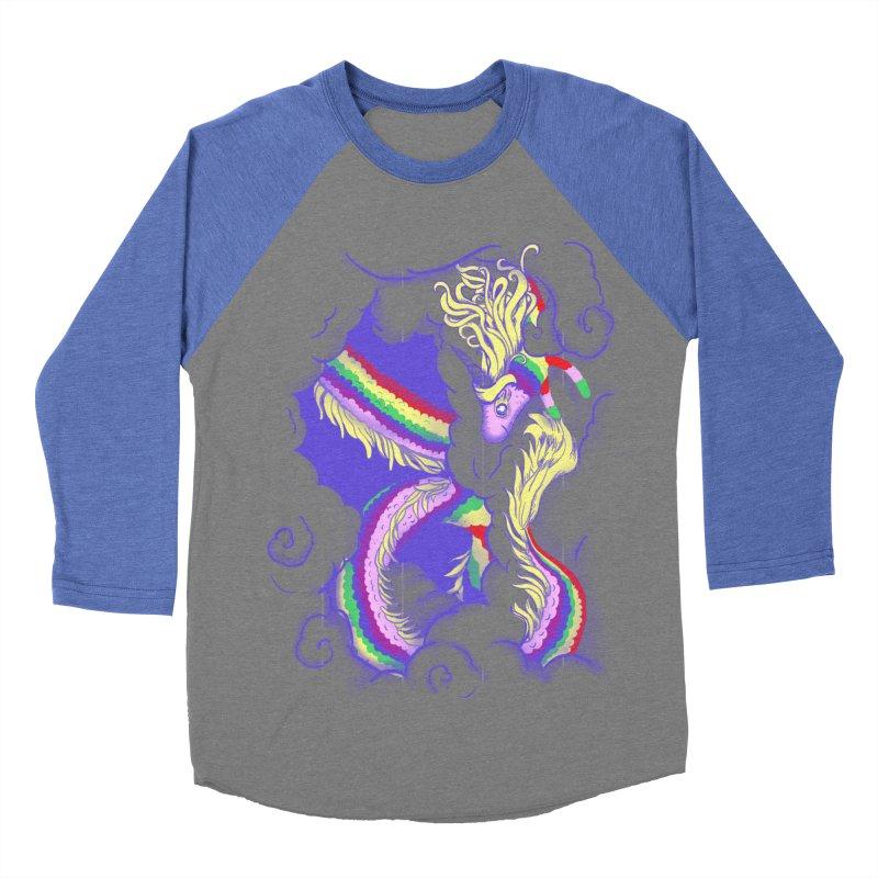 The Lady in the Sky Men's Baseball Triblend Longsleeve T-Shirt by jenshirt's Artist Shop