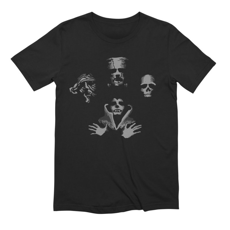 halloqueen in Men's Extra Soft T-Shirt Black by jerbing's Artist Shop
