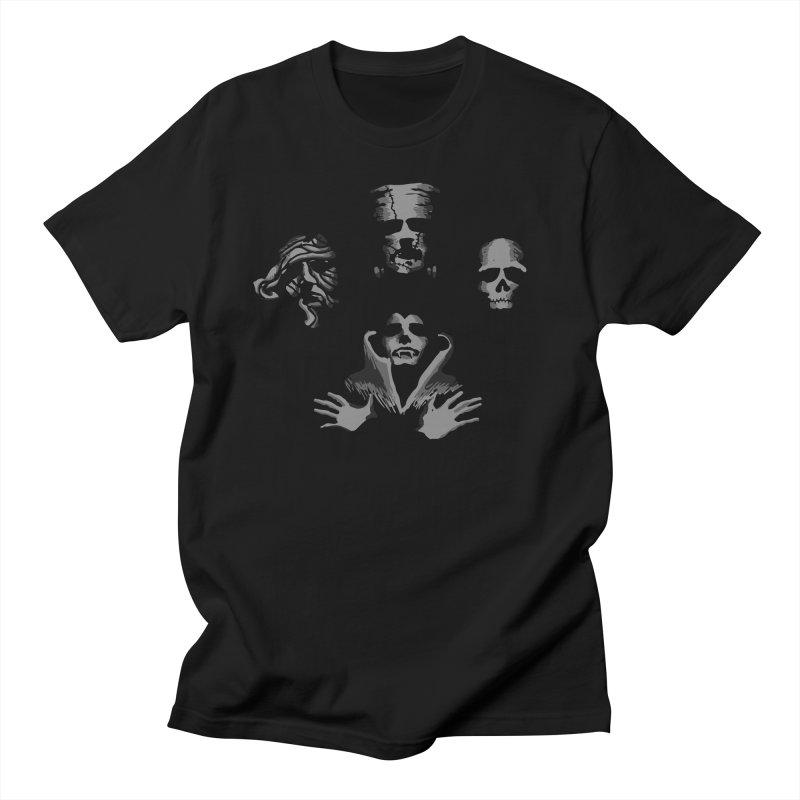 halloqueen Men's Regular T-Shirt by jerbing's Artist Shop