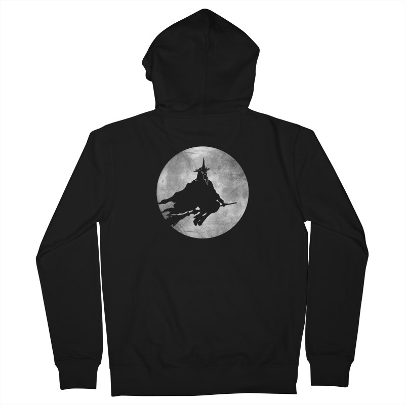 witchking Men's Zip-Up Hoody by jerbing's Artist Shop