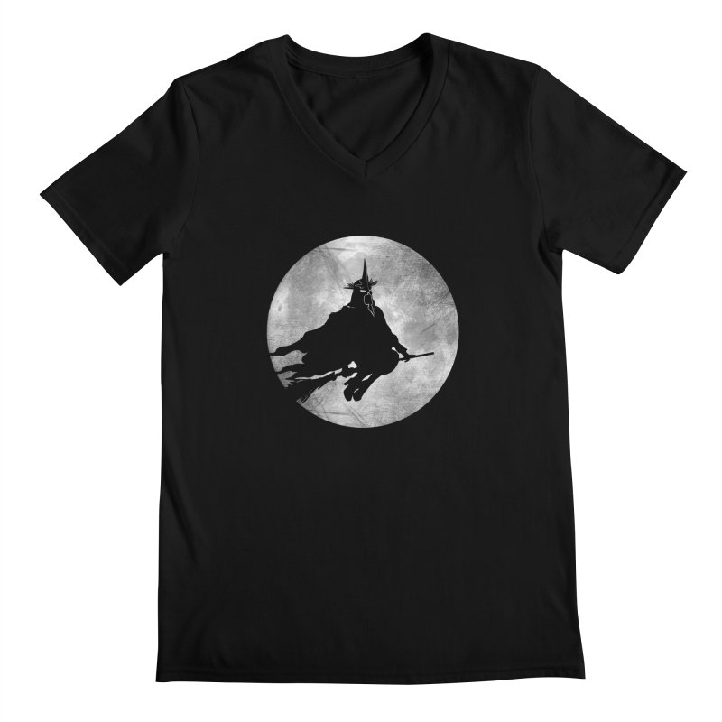 witchking Men's V-Neck by jerbing's Artist Shop