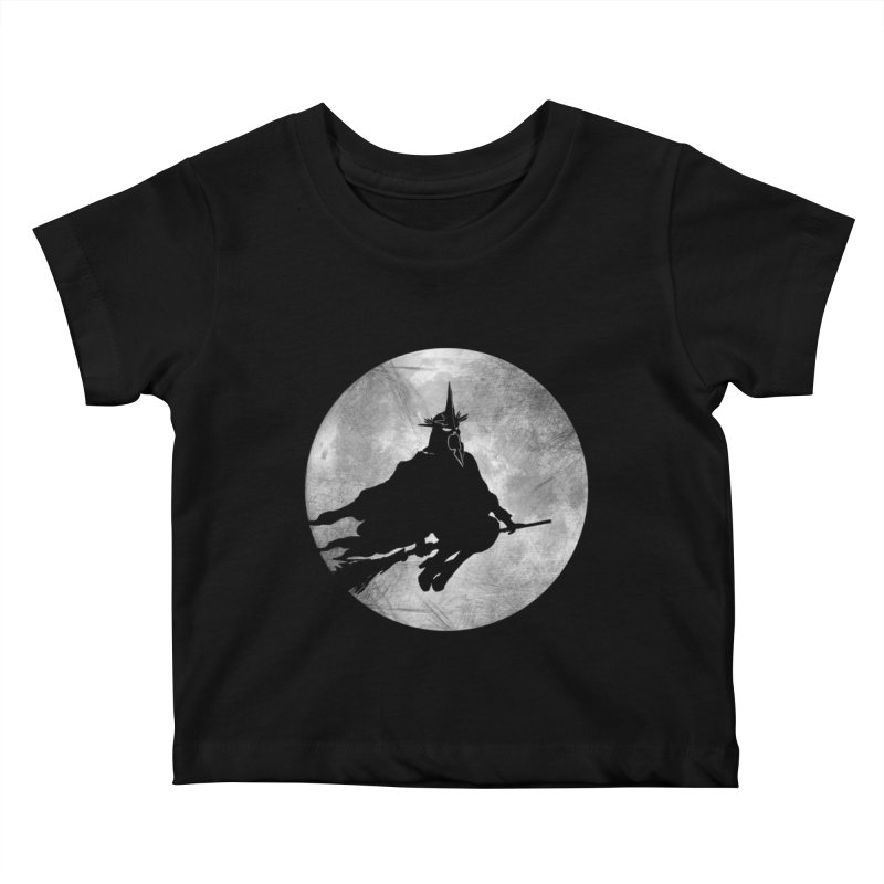 witchking Kids Baby T-Shirt by jerbing's Artist Shop