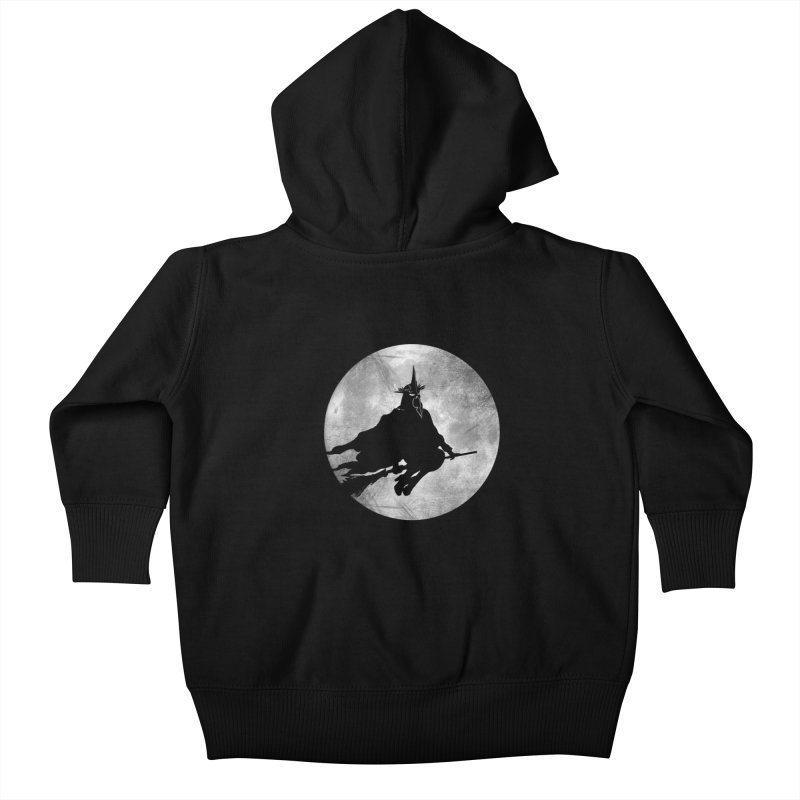 witchking Kids Baby Zip-Up Hoody by jerbing's Artist Shop