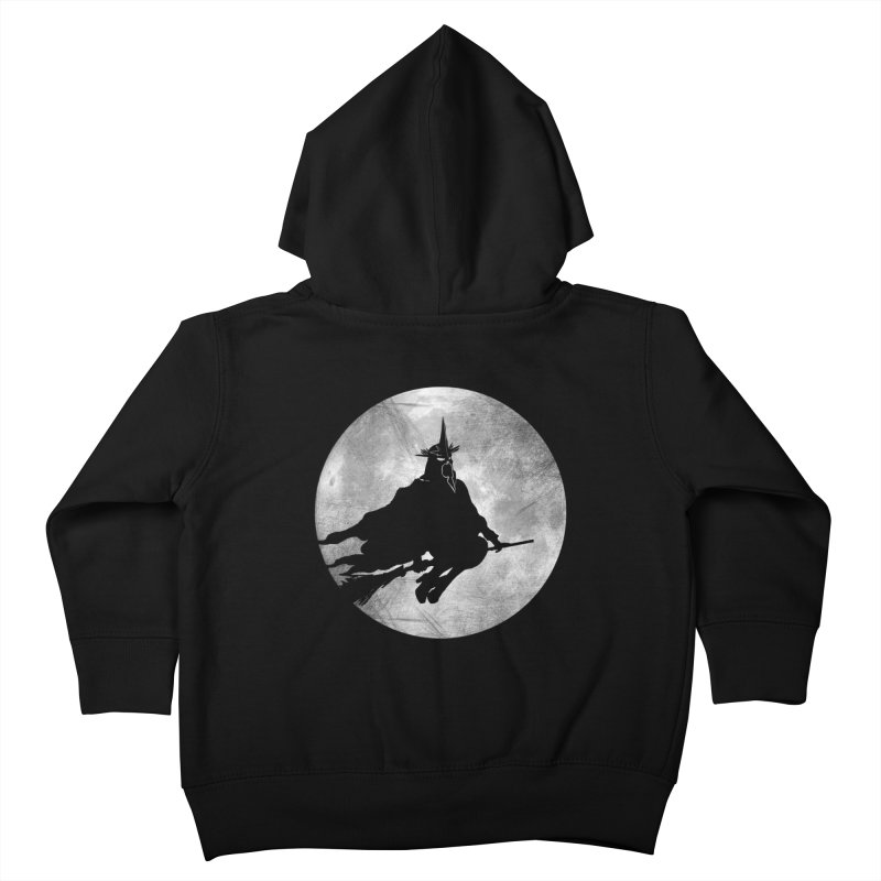 witchking Kids Toddler Zip-Up Hoody by jerbing's Artist Shop