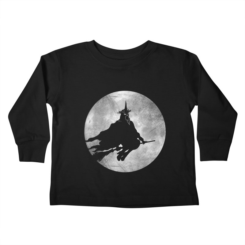 witchking Kids Toddler Longsleeve T-Shirt by jerbing's Artist Shop
