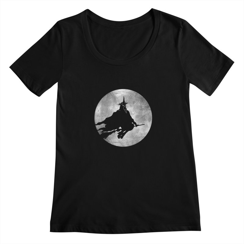 witchking Women's Scoopneck by jerbing's Artist Shop