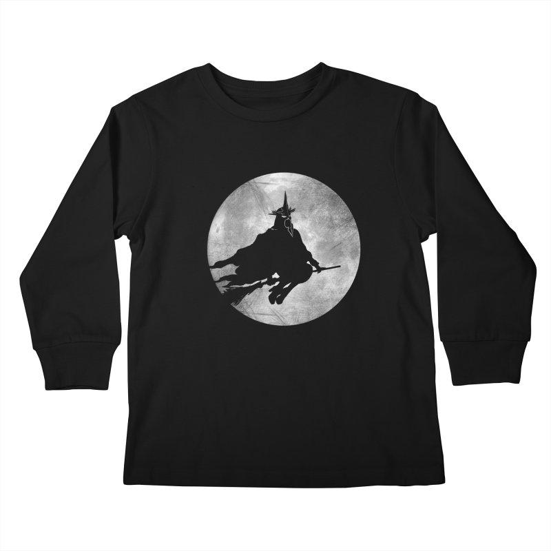witchking Kids Longsleeve T-Shirt by jerbing's Artist Shop