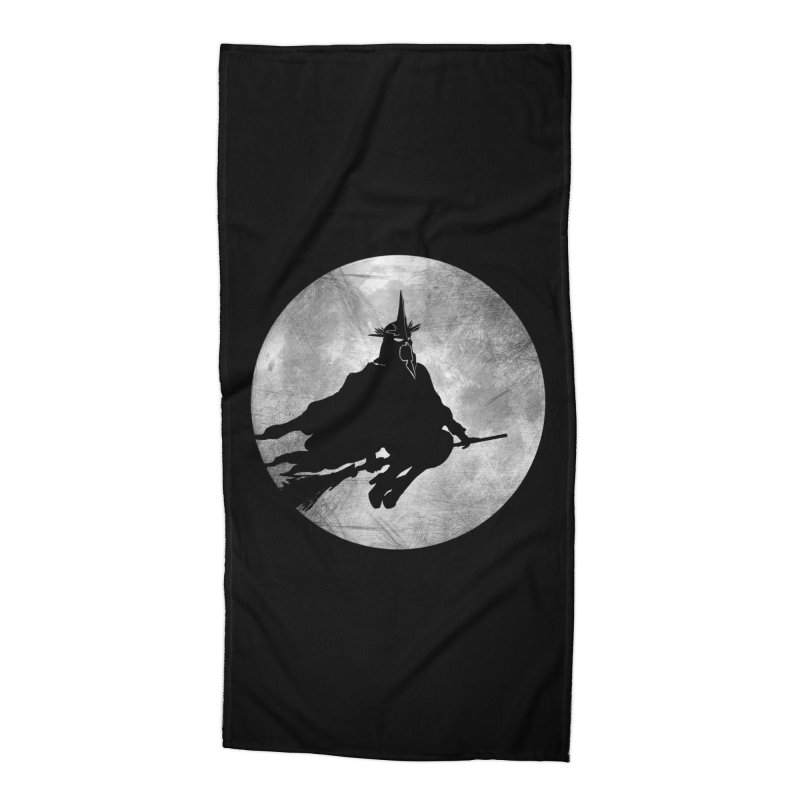 witchking Accessories Beach Towel by jerbing's Artist Shop