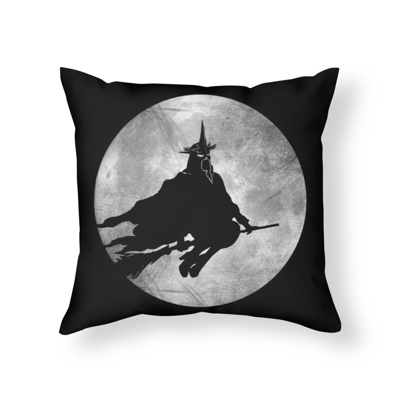 witchking Home Throw Pillow by jerbing's Artist Shop