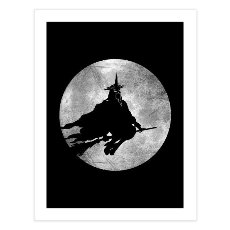 witchking Home Fine Art Print by jerbing's Artist Shop