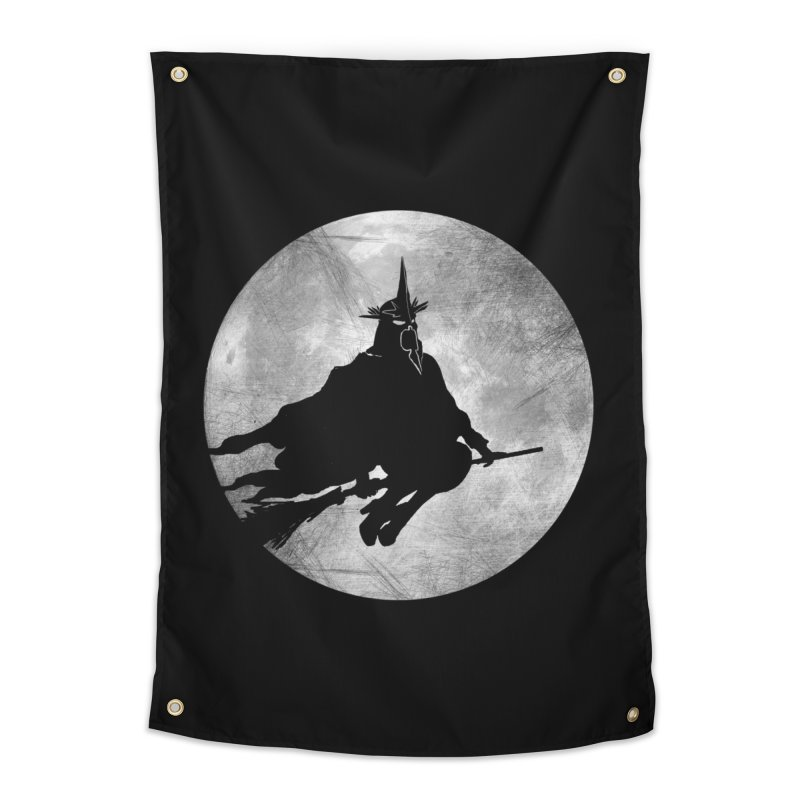 witchking Home Tapestry by jerbing's Artist Shop