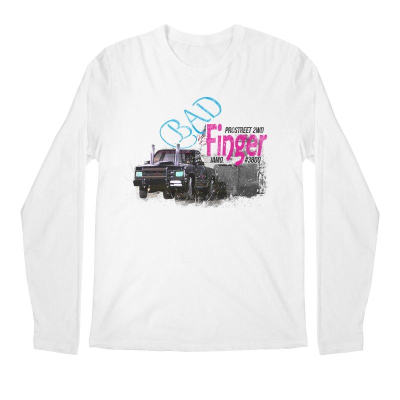Bad Finger Men's Longsleeve T-Shirt by jerbing's Artist Shop