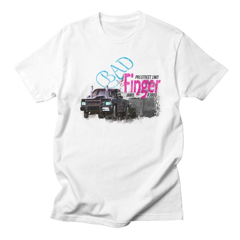 Bad Finger Men's T-shirt by jerbing's Artist Shop