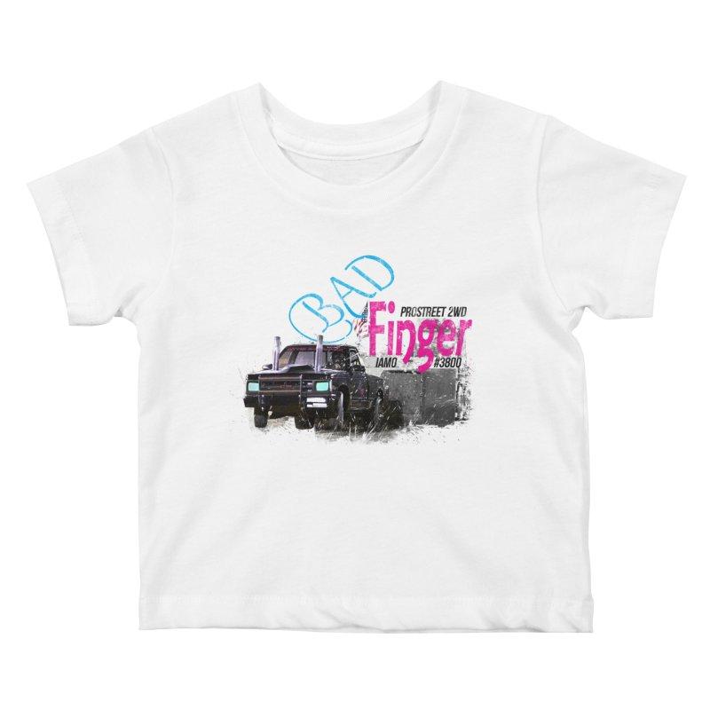 Bad Finger Kids Baby T-Shirt by jerbing's Artist Shop