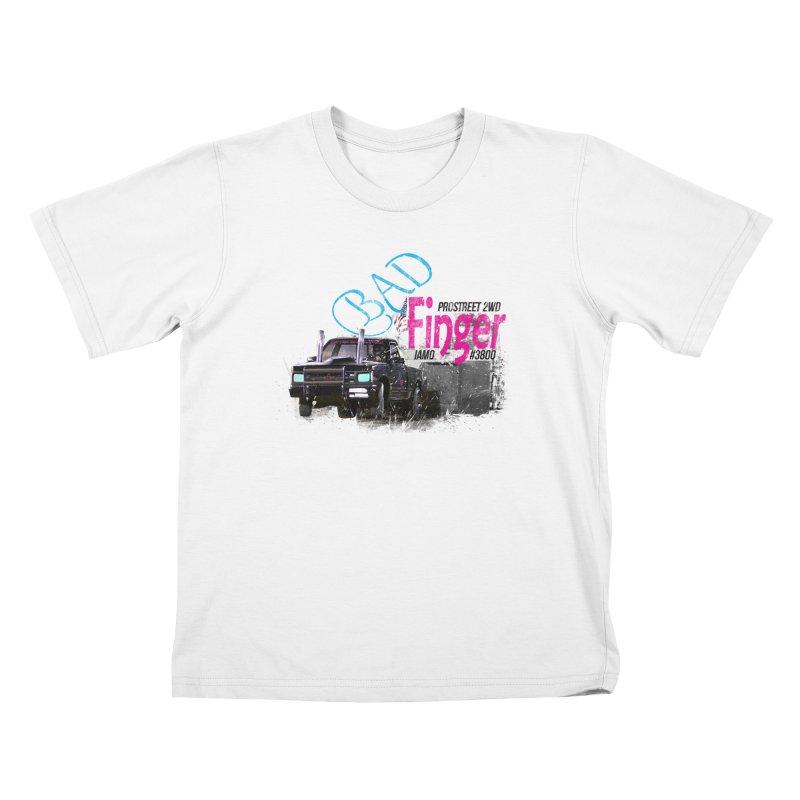 Bad Finger Kids T-shirt by jerbing's Artist Shop