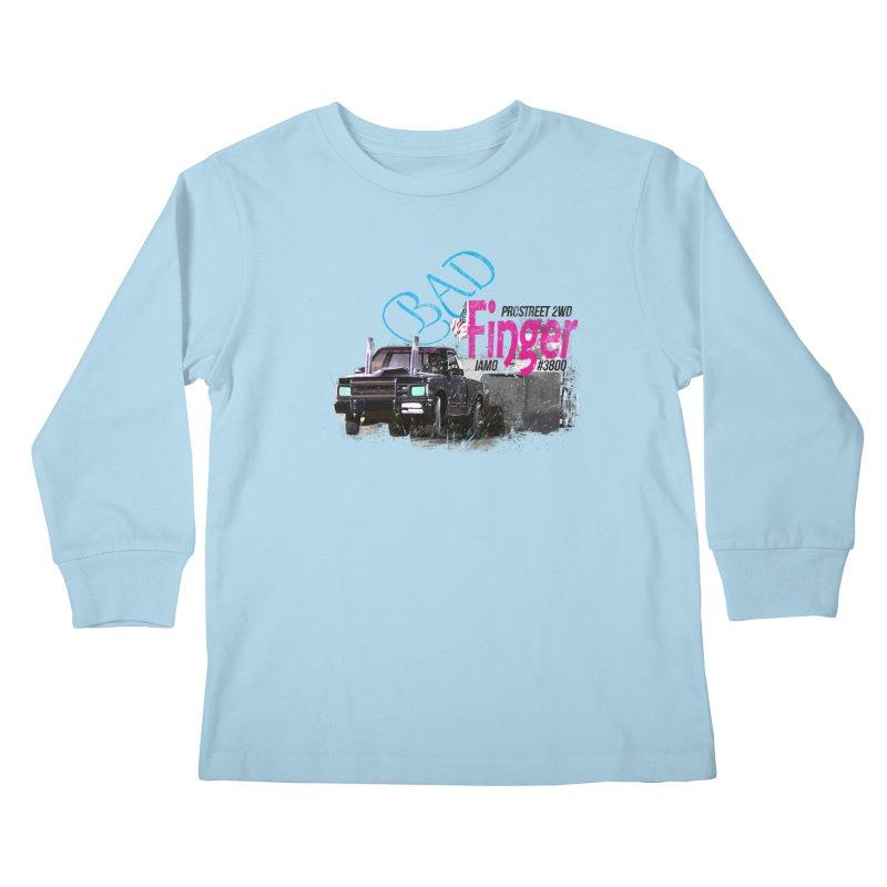 Bad Finger Kids Longsleeve T-Shirt by jerbing's Artist Shop