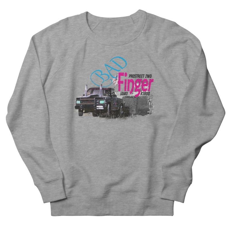Bad Finger Men's Sweatshirt by jerbing's Artist Shop