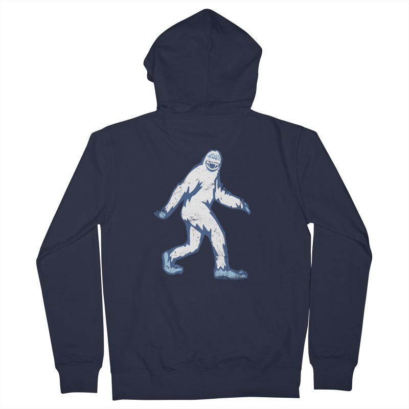 bumble Men's Zip-Up Hoody by jerbing's Artist Shop