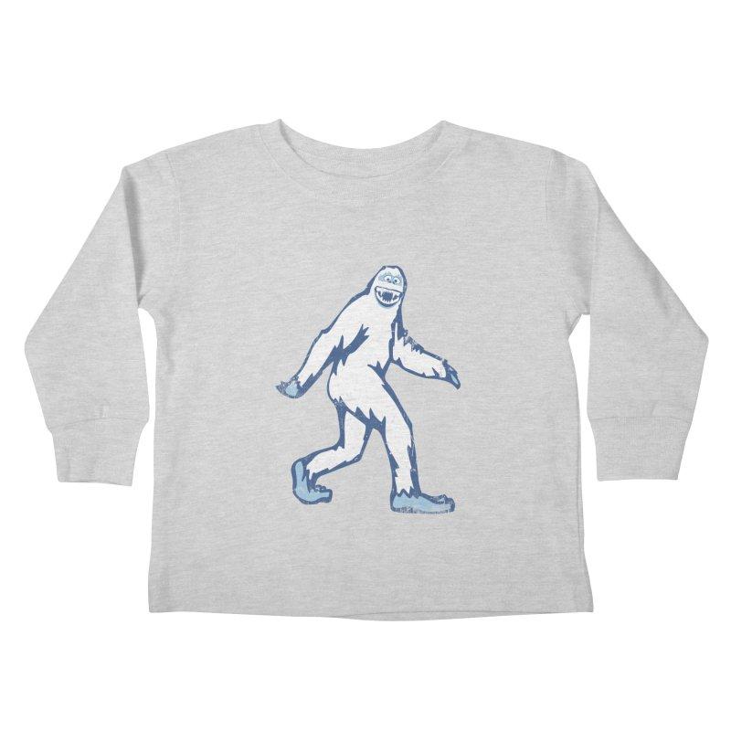 bumble Kids Toddler Longsleeve T-Shirt by jerbing's Artist Shop