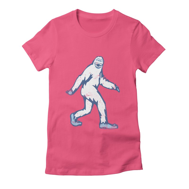 bumble Women's Fitted T-Shirt by jerbing's Artist Shop