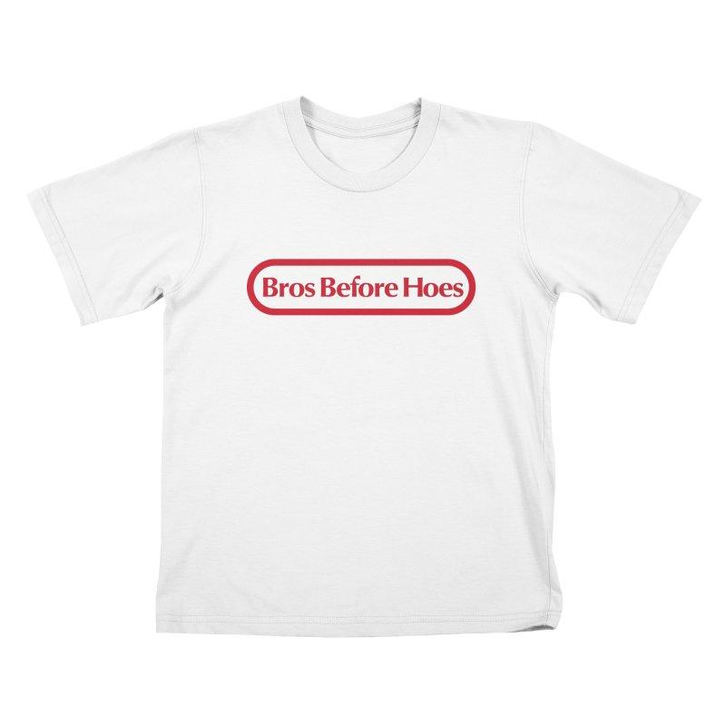 bros Kids T-shirt by jerbing's Artist Shop