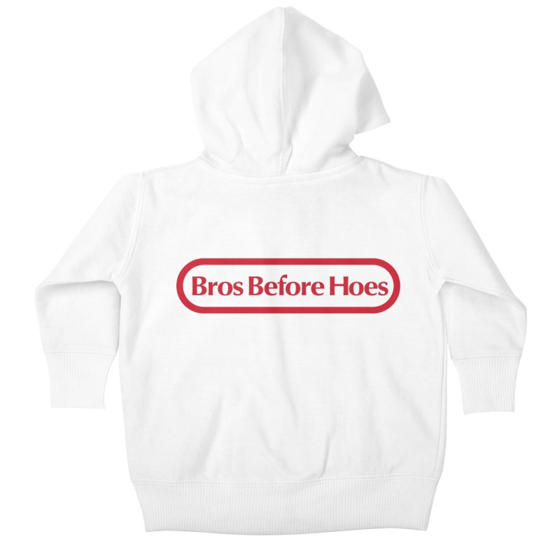 bros Kids Baby Zip-Up Hoody by jerbing's Artist Shop